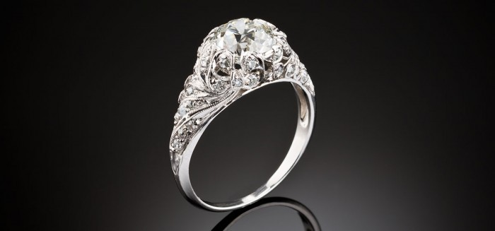 A very desirable Belle Epoque diamond ring